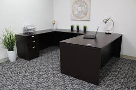 u shaped desks office design office desk altra pursuit u shaped desk with hutch