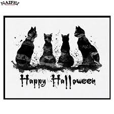 Black Cat Halloween Craft by Online Get Cheap Halloween Painting Crafts Aliexpress Com