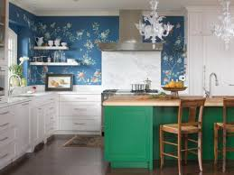 kitchen cabinet paint colors distressed turquoise cabinet