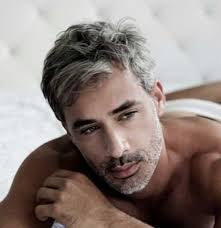 trendy gray hair styles 10 best men with gray hair mens hairstyles 2018