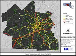 traffic map massachusetts montana map