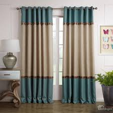 beige and teal curtains curtain ideas