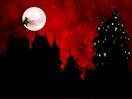 halloween silhouette hd wallpaper 10552