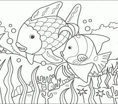 rainbow fish coloring pages the rainbow fish template can use