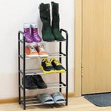 Shelves For Shoes by Shelves For Shoes Small Compact Cabinet Lightweight 10 Pairs Ebay