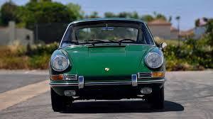 porsche 911 irish green 1967 porsche 911 coupe f78 monterey 2016