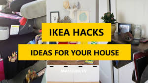50 best ikea hacks make up ideas for your house 2017 youtube
