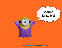 draw minion step step easily diy video