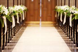 aisle markers feature friday ceremony aisle markers