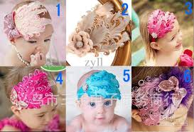 wholesale headbands wholesale baby feather headbands baby girl feather hair ornaments