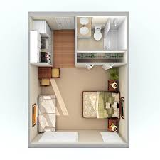 studio apartments 300 square feet floor plan garage apartment