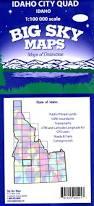 Idaho Hunting Unit Map Big Sky Maps