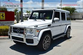mercedes of fort lauderdale fl used 2015 mercedes g63 amg for sale fort lauderdale fl