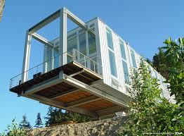 cantilever homes cantilever house combines commercial steel and residential style