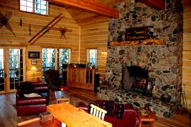 modern log home interiors furniture magnificent log cabin interiors for living room sets