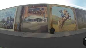 portsmouth ohio flood wall murals youtube