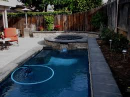 Small Backyard Pool Designs Pool Designs For Small Backyards With Well Large White