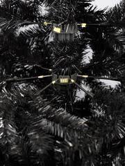 black bergen spruce artificial tree 7ft 3ft wide
