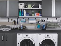Modern Laundry Room Decor by Garage Ideas Decorating Garage Organization Ideas Diy Garage
