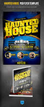 haunted house halloween party flyer template halloween flyer