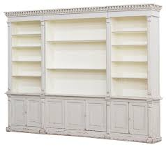 leaning bookcases youll love wayfair distressed wooden bookcase