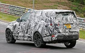 discovery land rover 2017 white 2017 land rover discovery hits the nurburgring interior spied
