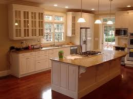 kitchen marvelous decorating ideas using l shaped brown wooden