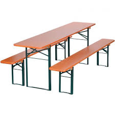 german beer garden table and bench free shipping on all continental us orders this ruku table measures