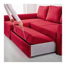 Ikea Chaise Lounge Backabro Sofa Bed With Chaise Longue Nordvalla Ikea