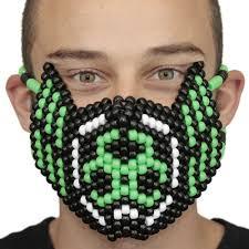 kandi mask biohazard toxic kandi mask get dangerous kandi gear