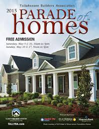 2015 Tallahassee Parade Of Homes By Tba Tallahassee Builders
