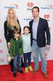 The Trump Family by Donald Trump Jr Wife Vanessa Haydon And Children Kai Madison