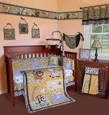 Cheetah Print Crib Bedding Jungle Safari Animals Crib Bedding Set Monkey Kmart Sweet Jojo