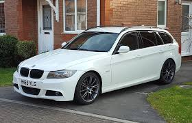 bmw series 3 white bmw 3 series 3 0 335d m sport touring 5dr white in downend
