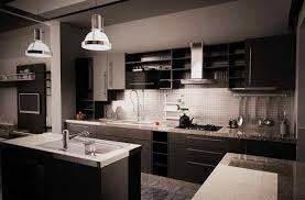 cuisine noir et gris cuisine noir et gris deco 1 photo decoration lzzy co