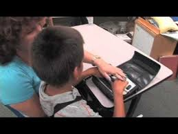 Assistive Technology For The Blind Braille Notetaker Assistive Technology For The Blind Youtube