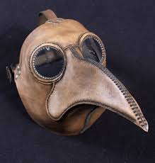 plague doctor s mask plague doctor s mask maximus in brownish leather