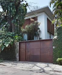 Brazilian Home Design Trends Modern Elegance Showcased In Itiquira House Steel Panels Trends