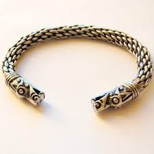 bracelet dragon images Viking bracelet dragon heads jpg
