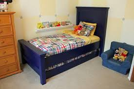 Navy Blue Bedroom Furniture by Bed U0026 Bedding Simple Twin Bed With Trundle In White For Bedroom