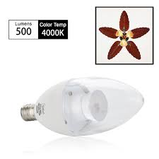 candelabra led bulb dimmable 60w equivalent daylight 4000k led
