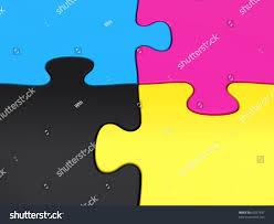 cymk puzzle cmyk puzzle pieces closeup stock illustration 65067697 shutterstock