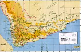 Map Of Yemen Yemen Old Splendour Tours
