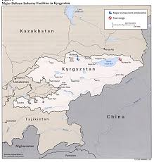 Bishkek Map The Tajikistan Update Maps Of Kyrgyzstan