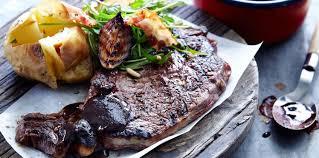 cuisiner un rumsteak rumsteak sauce barbecue facile et pas cher recette sur cuisine