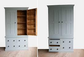handmade solid wood larder unit freestanding kitchen units
