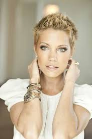 short hairstyles for females fade haircut