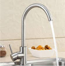 Ebay Kitchen Sinks Stainless Steel by Details About Modern Brushed Nickel Stainless Steel Single Lever