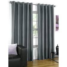 grey silk curtains grey aubergine curtains grey faux silk blackout curtains