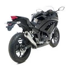 honda cbr 250cc leo vince cobra stainless steel muffler ninja 250 300 cbr250